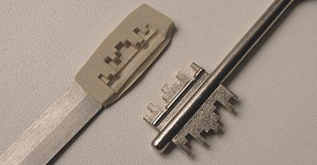 Изготовление ключей своими руками